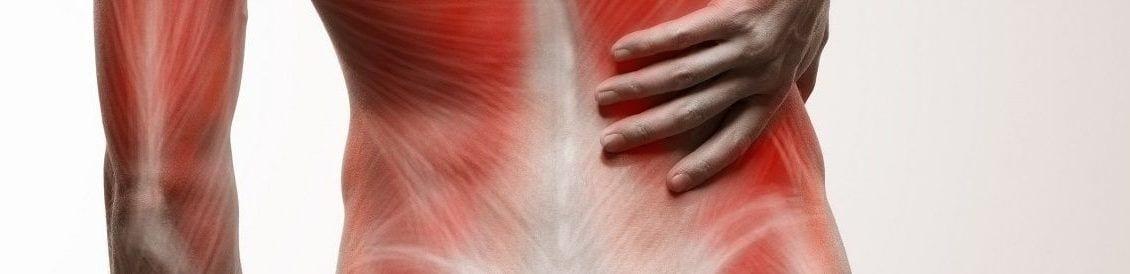 Verhärtete Muskulatur die oft durch Fehlhaltungen verursacht wird ist der Hauptgrund für einen eingeklemmten Nerv. Durch die Verhärtungen wird Druck auf den z. B. Spinalnerven ausgeübt.
