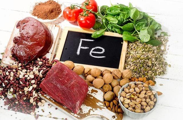 Eisen ist ein Spurenelement und unentbehrlich für den Sauerstofftransport im Körper. Somit stellt es die Sauerstoffversorgung der Muskeln sicher.