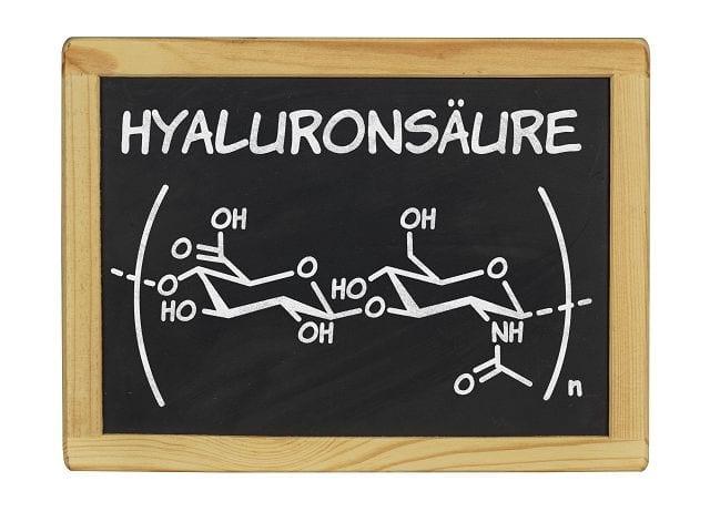 Ein wichtiger Bestandteil des Bindegewebes ist Hyaluron oder auch die Hyaluronsäure. Es besitzt die Eigenschaft viel Wasser zu binden, druckbeständig zu sein und hat eine gute Gleitfähigkeit.