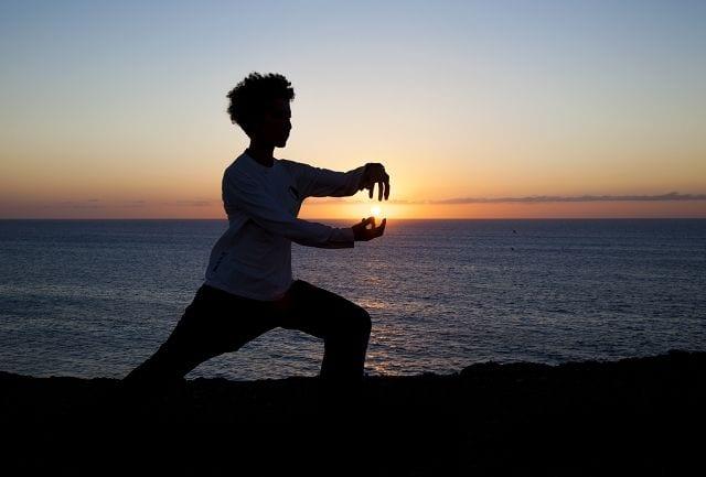 Qigong umfasst: Atemübungen, Körper- und Bewegungsübungen, Konzentrationsübungen und Meditationsübungen.