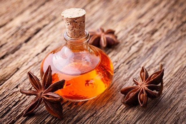 Anisöl wird mittels Wasserdampfdestillation aus der gleichnamigen Pflanze gewonnen.