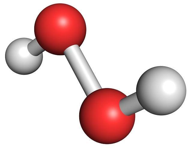 Eine der bekanntesten Peroxidverbindungen ist Wasserstofperoxid. Es wird z.B. beim Friseur zu bleichen der Haare verwendet.
