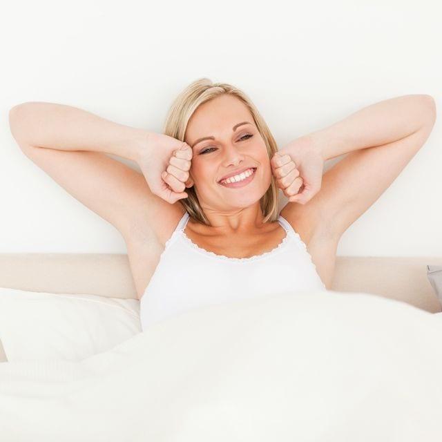 Ein erholsamer Schlaf ist das beste Mittel für einen guten Start in den Tag.