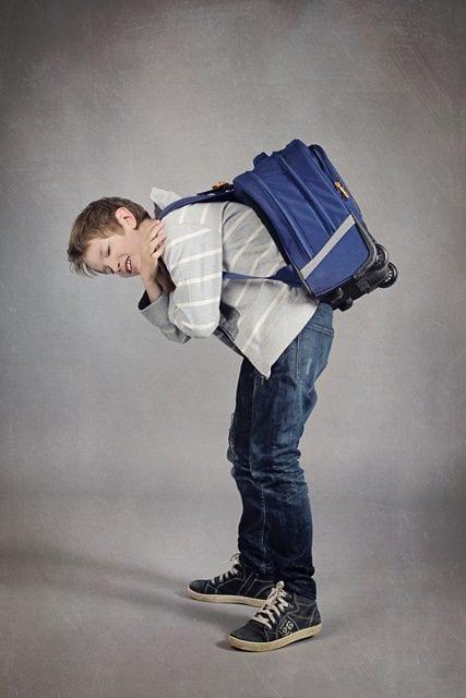 Darstellung eines schwer tragenden Kindes