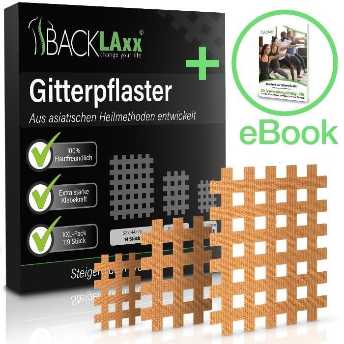 Die BACKLAxx-Pflaster können für die verschiedensten Beschwerden eingesetzt werden und beruhen auf dem Prinzip der Akupressur.