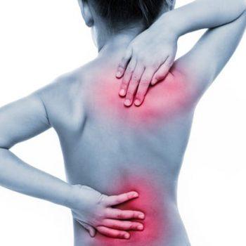 Bildlink des Artikels über Rückenschmerzen bei Kindern.